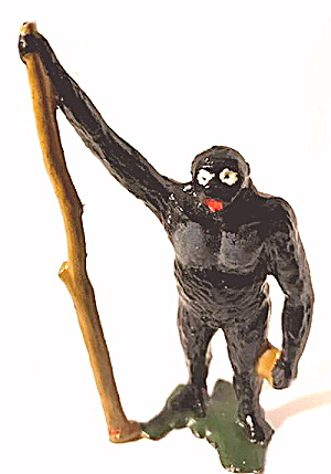 1920s Britains 954 Gorilla With Tree
