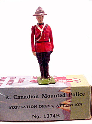 Britains 1374b Royal Canadian Mounted Police In Box