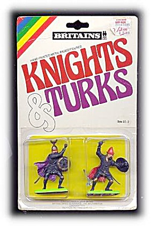 BRITAINS Knights & Turks Mint in Pkg - 1970s (Image1)