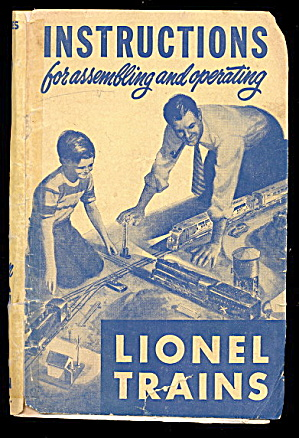 1950 Lionel Instructions for Assembling & Operating (Image1)