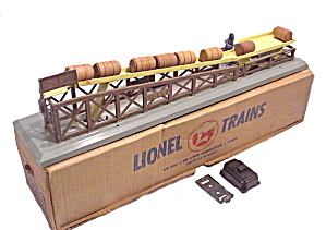 1950s Lionel 362 Barrel Loader In Original Box
