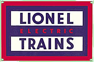 Vintage Lionel Trains Enamel Pinback (Image1)