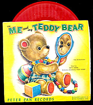 Me & My Teddy Bear 1953 Peter Pan Record