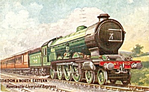 Tucks London & North Eastern (LNER) Train Postcard (Image1)