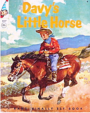 """1956 'Davy's Little Horse"" Rand Elf  Book (Image1)"