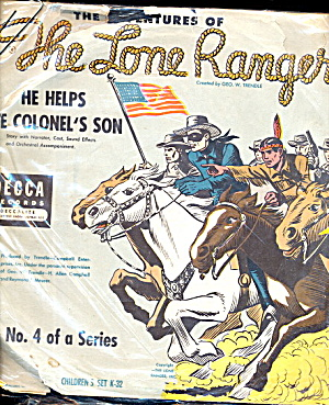 The Lone Ranger' - He Helps the Colonels Son Record (Image1)