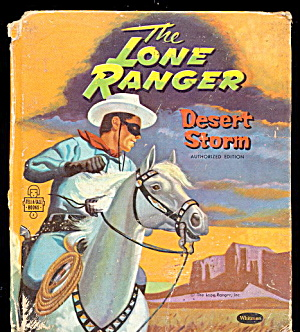 1957 'The Lone Ranger - Desert Storm' Whitman Book (Image1)