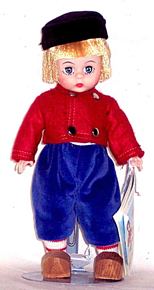 1960s Madame Alexander Dutch Netherland Boy Doll (Image1)