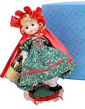 Madame Alexander 485 Red Riding Hood In Box