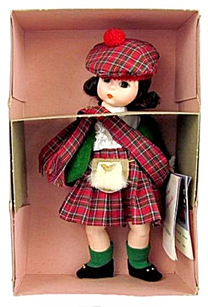Madame Alexander 596 Scotland In Box