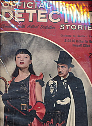 Official Detective Stories - June 1946 Pulp Magazine
