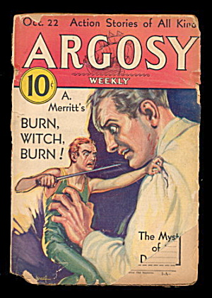 Oct 22 1932 Argosy Edgar Rice Burroughs Pulp Magazine