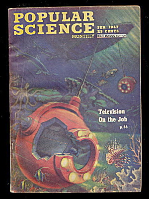 "Feb 1947 ""popular Science"" Magazine"
