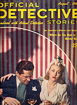 Official Detective Stories - Aug 1945 Pulp Magazine (Image1)
