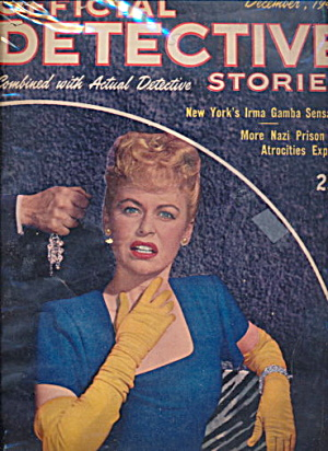 Official Detective Stories - Dec 1945 Pulp Magazine