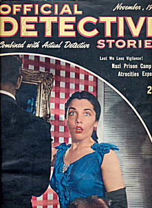 Official Detective Stories - Nov 1945 Pulp Magazine (Image1)