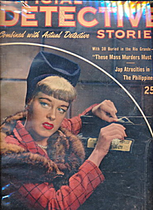 Official Detective Stories - Feb 1946 Pulp Magazine