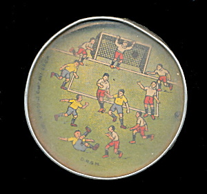 1920s Soccer Pinball Hand Held Palm Puzzle