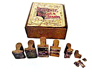 Early 1900s Brownie Stamps In Original Box