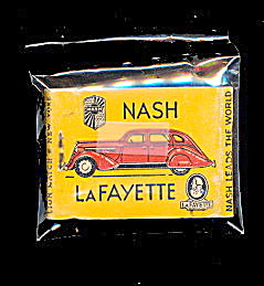 1930s Nash-lafayette Car Match Book