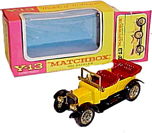 Matchbox Models Of Yesteryear Y-13 1911 Daimler