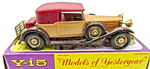 Matchbox Moy Y-15 1930 Packard Victoria In Box