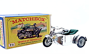 Matchbox Models Of Yesteryear Y-8 1914 Sunbeam In Box