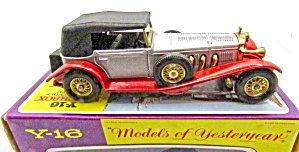 Matchbox Moy Y-16 1928 Mercedes Coupe In Box