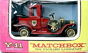 Matchbox Models Of Yesteryear Y-11 Packard Landaulet
