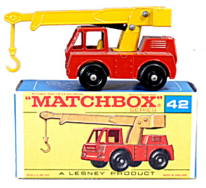 1960s Matchbox No 42 Iron Fairy Crane in Box (Image1)