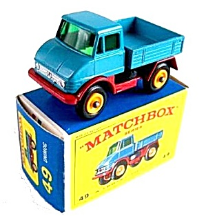 1960s Matchbox No 49 Unimog in Box (Image1)