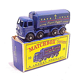 1960s Matchbox 10 Tate & Lyle Container Truck In Box