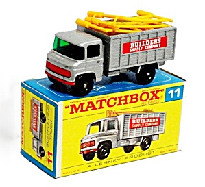 1960s Matchbox No 11 Scaffolding Truck in Box (Image1)