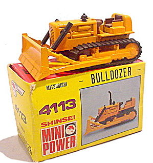 Shinsei 4113 Mini Power Mitsubishi Bulldozer W Box
