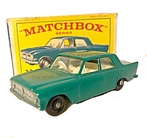 1960s Matchbox 33 Ford Zephyr In Box