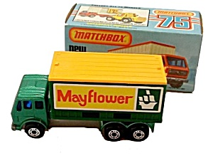1976 Matchbox 42 Mercedes Container Truck Mib