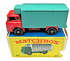 1960s Matchbox 44 Refrigerator Truck Mint In Box