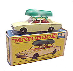 1960s Matchbox 45 Ford Corsair In Box