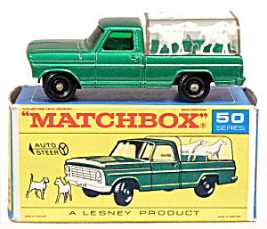 1960s Matchbox No 50 Kennel Truck in Box (Image1)