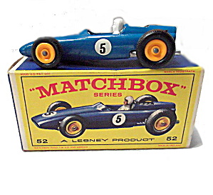 Matchbox 52b Brm Racing Car In Box