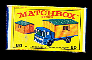 1960s Matchbox No 60 Truck with Site Office in Box (Image1)