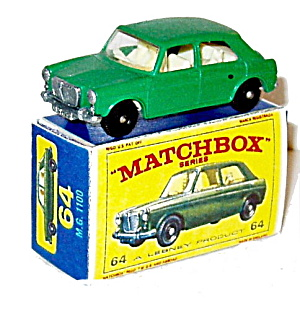 1960s Matchbox No 64 M.G. 1100 Car Mint in Box (Image1)