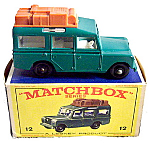 1960s Matchbox No 12 Safari Land Rover in Box (Image1)