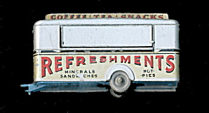Matchbox 1960s #74 Mobile Canteen Refreshments
