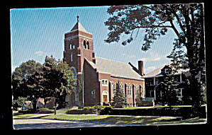 South Haven, MI, St. Basil Church 1950s Postcard (Image1)