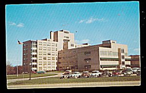Flint, MI, Mc Laren General Hospital 1950s Postcard (Image1)