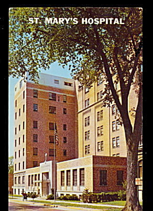Grand Rapids, MI, St. Mary�s Hospital 1950s Postcard (Image1)