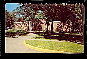 Marshall, MI, Oaklawn Hospital 1950s Postcard (Image1)