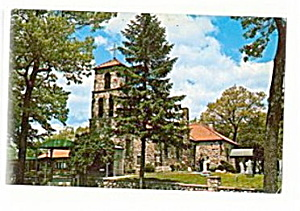 Brooklyn, MI, Church of St. Joseph�s 1950s Postcard (Image1)