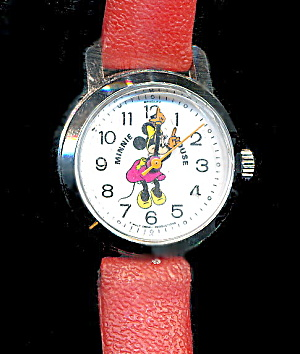 Vintage Minnie Mouse Bradley Watch